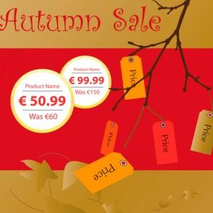 Autumn Sale Print Project Designed by imwebdesigner.com