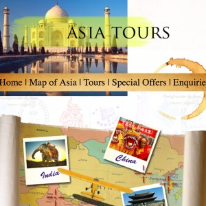 Asia Tours Project by imwebdesigner.com