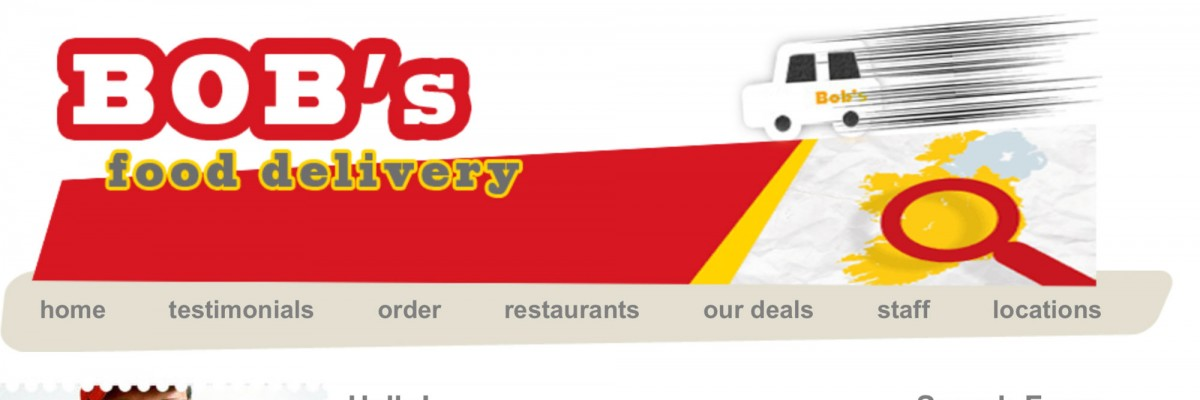 Bob's Delivery Project by imwebdesigner.com