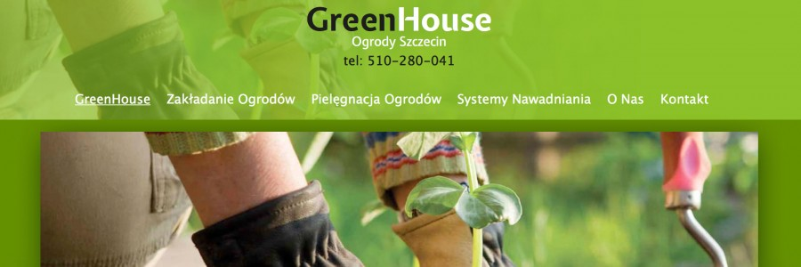 GreenHouse Szczecin website project responsive website designed by imwebdesigner.com