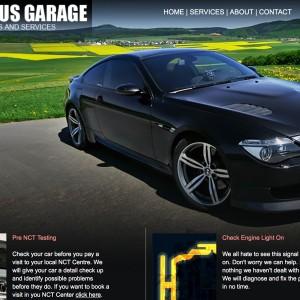 Website Redesign Project - Marius Garage Limerick - designed by imwedesigner.com