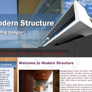 Modern Structure Project by imwebdesigner.com