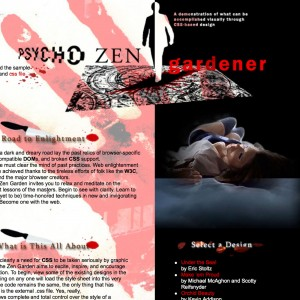Custom Website design CSS Zen Garden by imwebdesigner.com