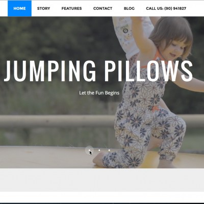 Jumping Pillows Web Project