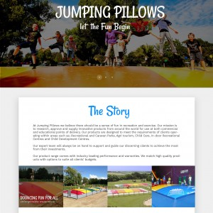jumping pillows project by ImWebDesigner